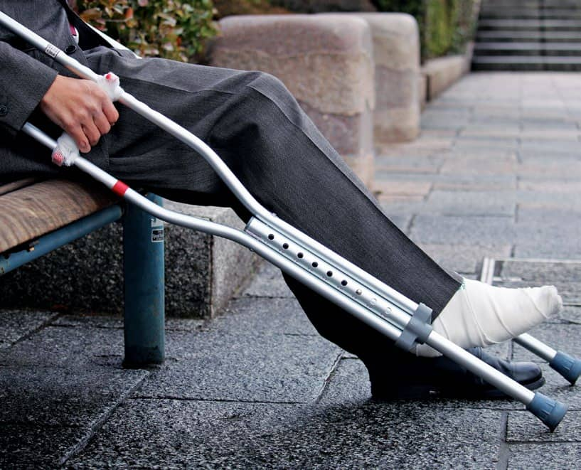 The Gift Of Crutches