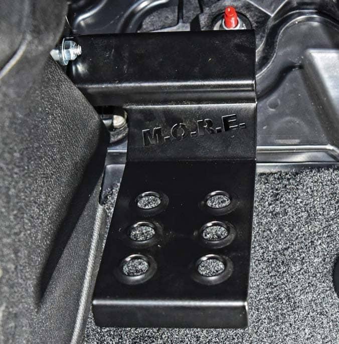 M.O.R.E. Jeep Dead Pedal