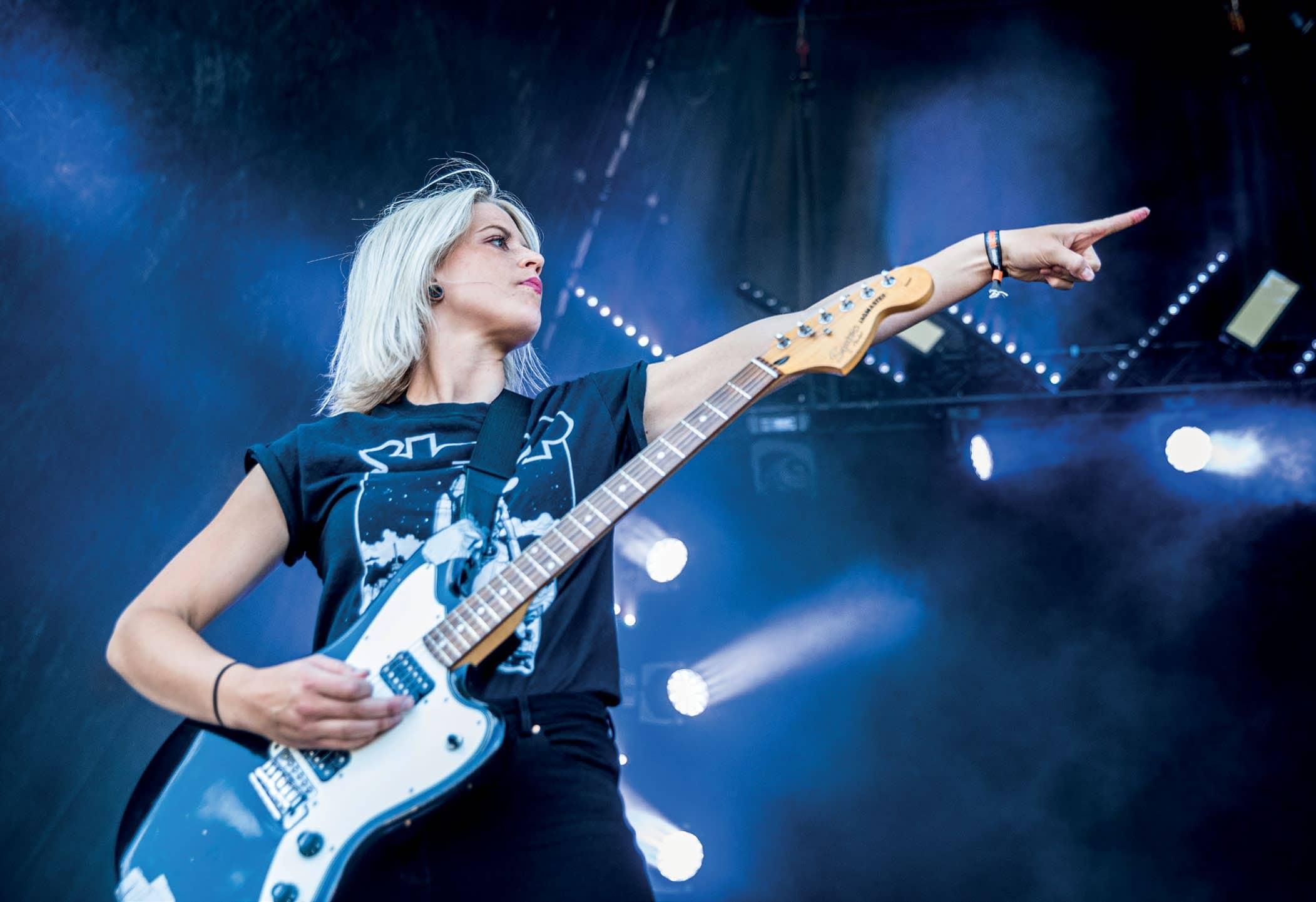 5 Questions with Konvent Guitarist Sara Nørregaard