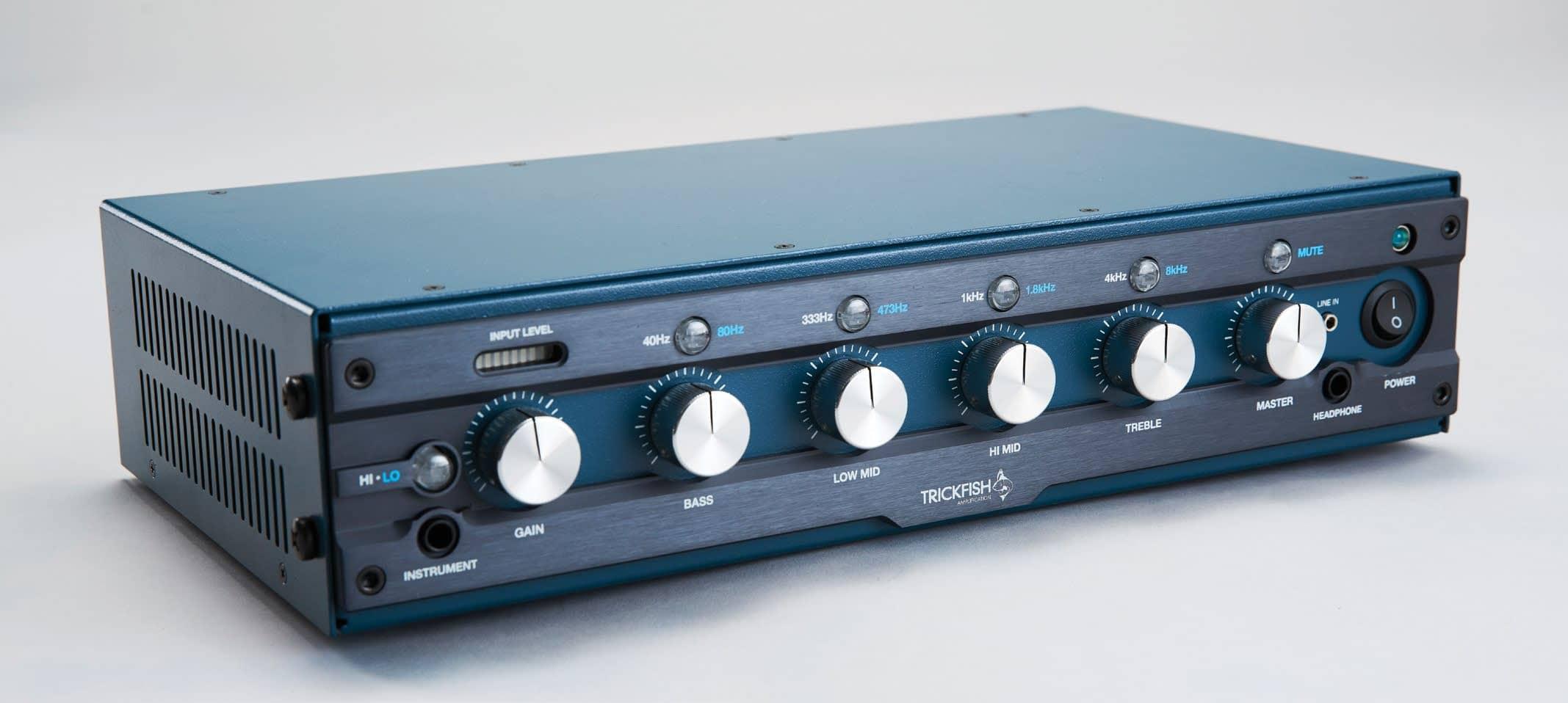 TRICKFISH Bullhead 1K Amp and TF-112 Cabinet
