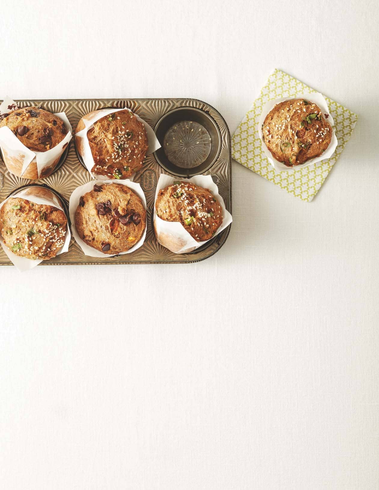 Rise and Shine with Whole-Wheat Muffins