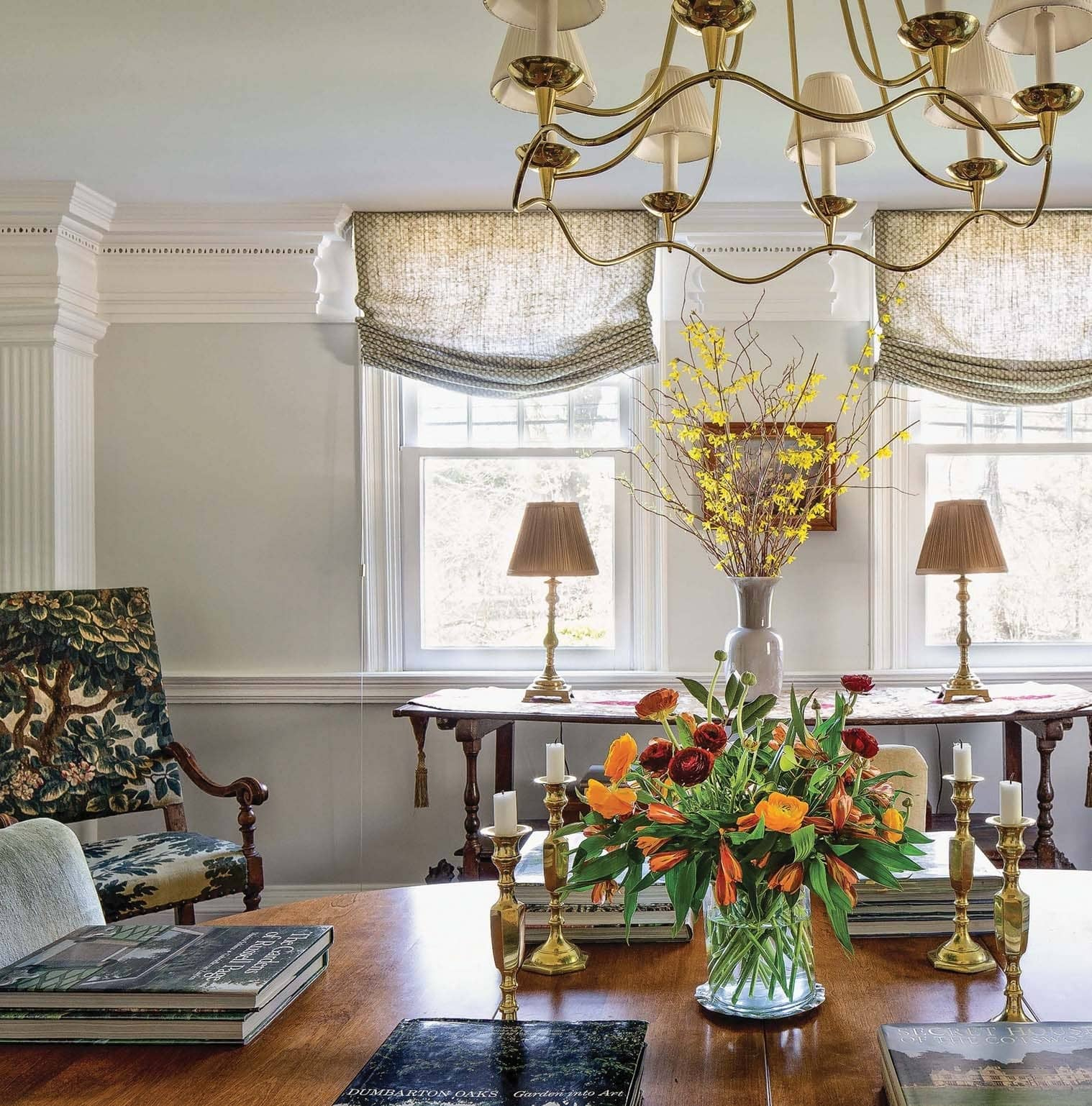 An Artful Approach FOR A 1755 COLONIAL