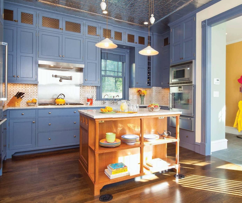 Revival Kitchen in a Queen Anne