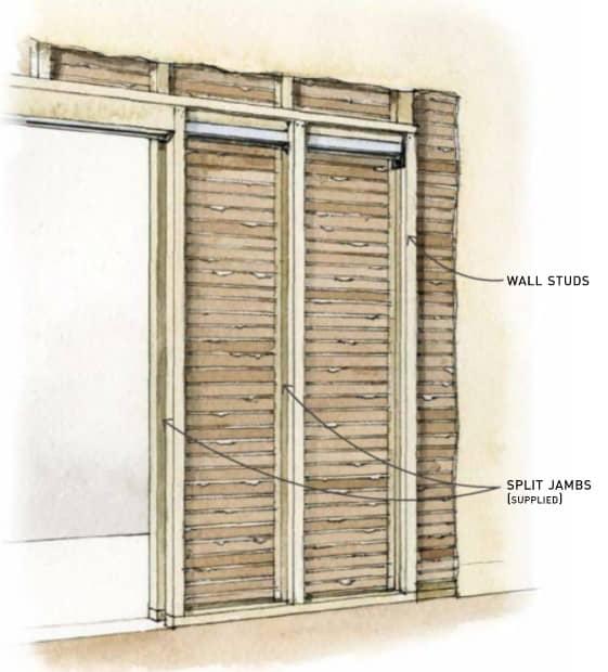 Framing a Pocket Door