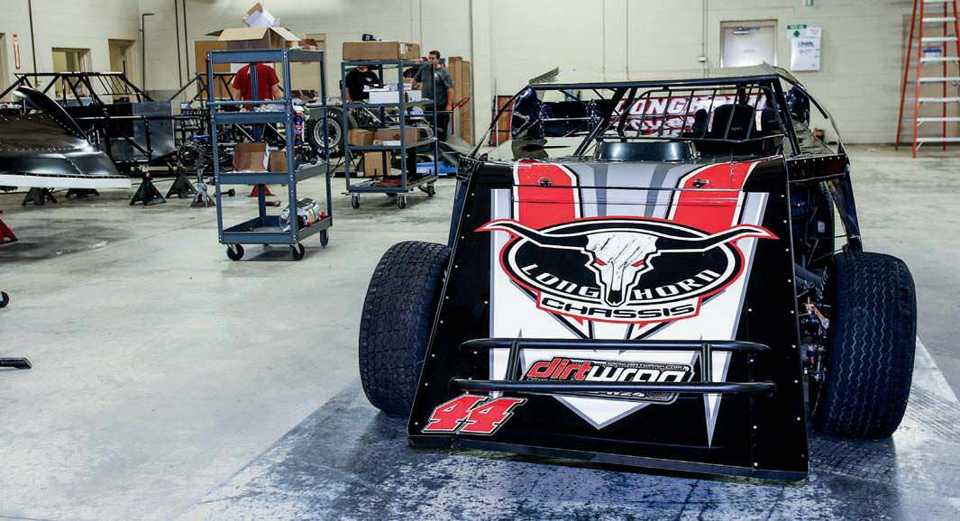 Longhorn Chassis Jumps Into The Modified Game