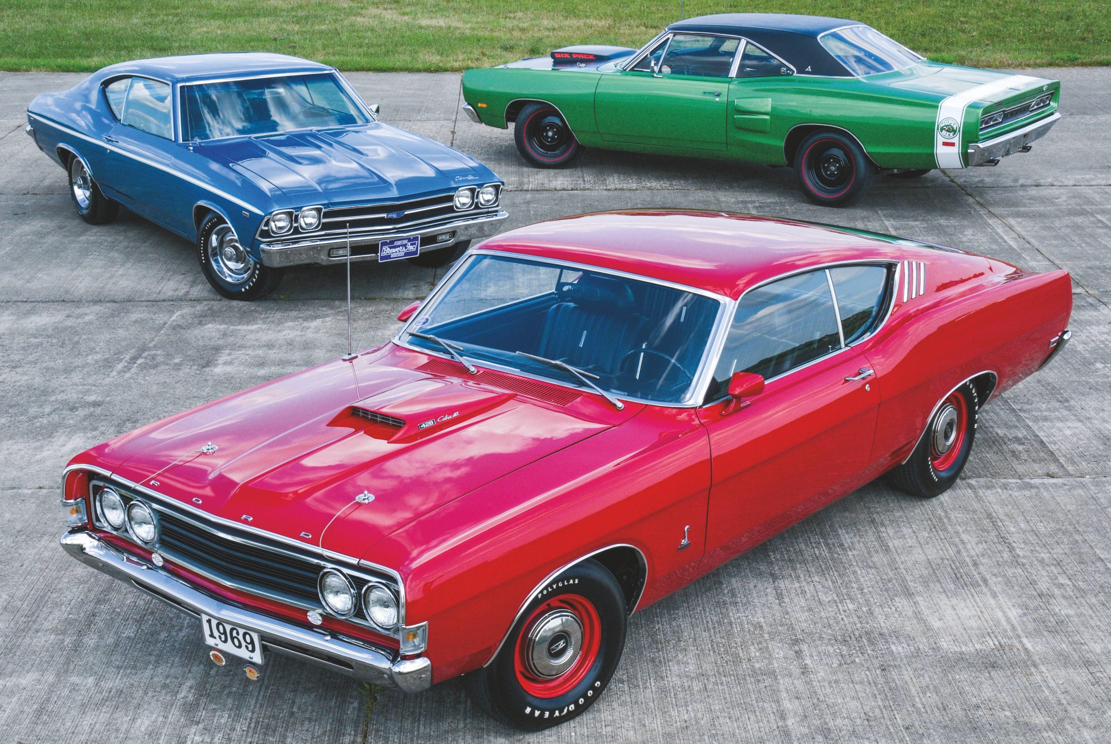 Muscle Woodstock Car