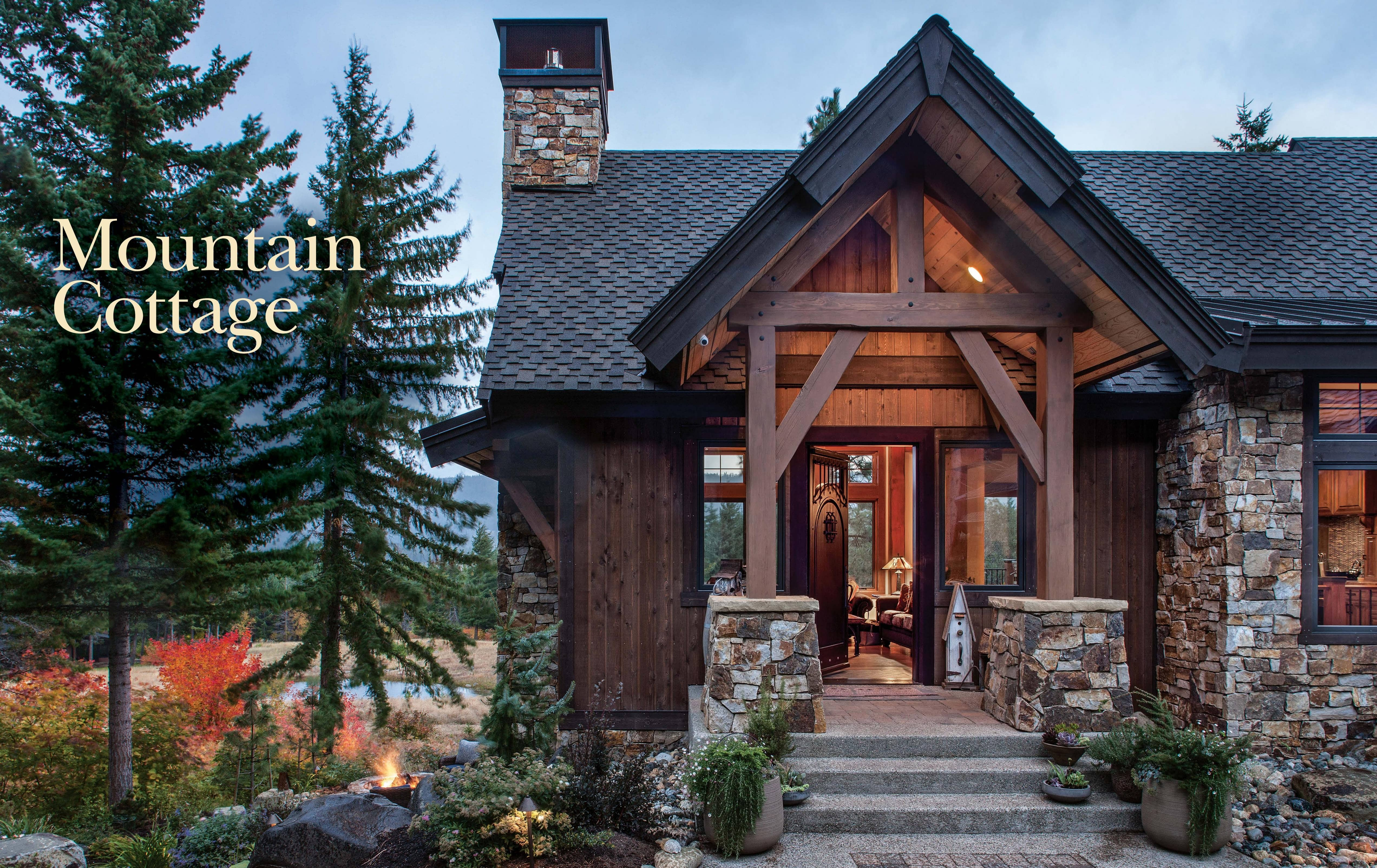 Mountain Cottage Masterpiece 30 Timber Home Living October 2019 Masterpiece