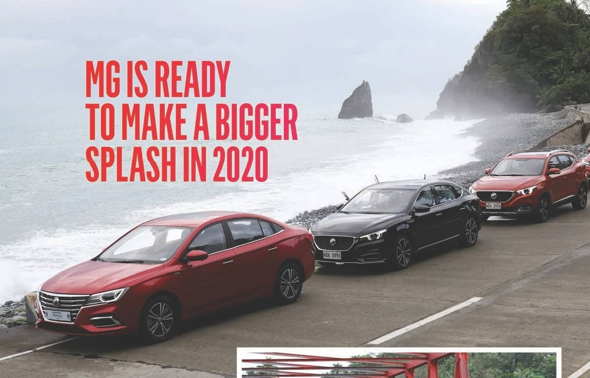 MG IS READY TO MAKE A BIGGER SPLASH IN 2020