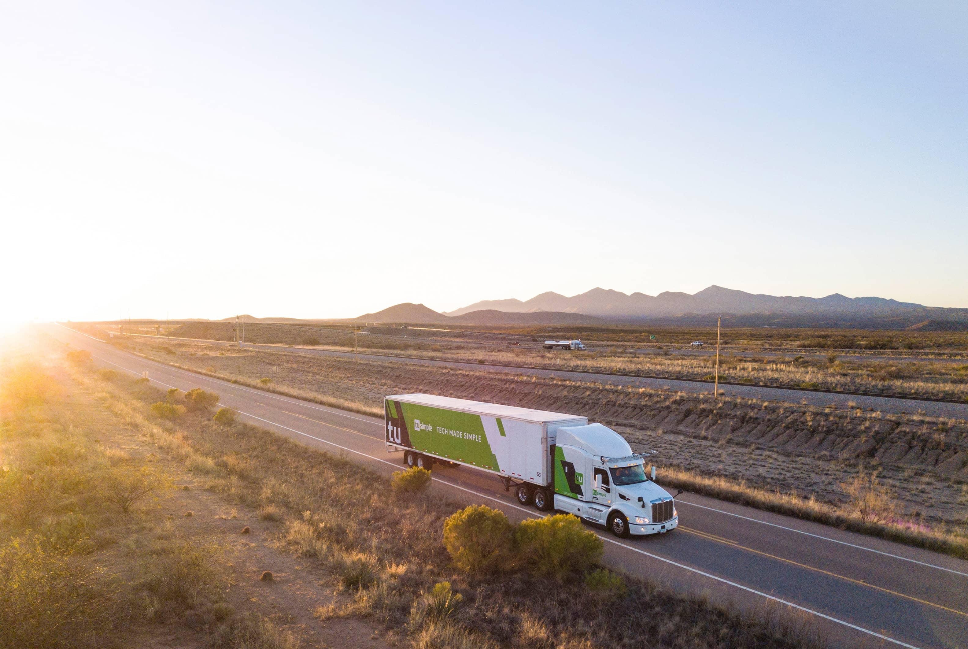 Postal Service Tests Mail Shipments On Self-Driving Trucks