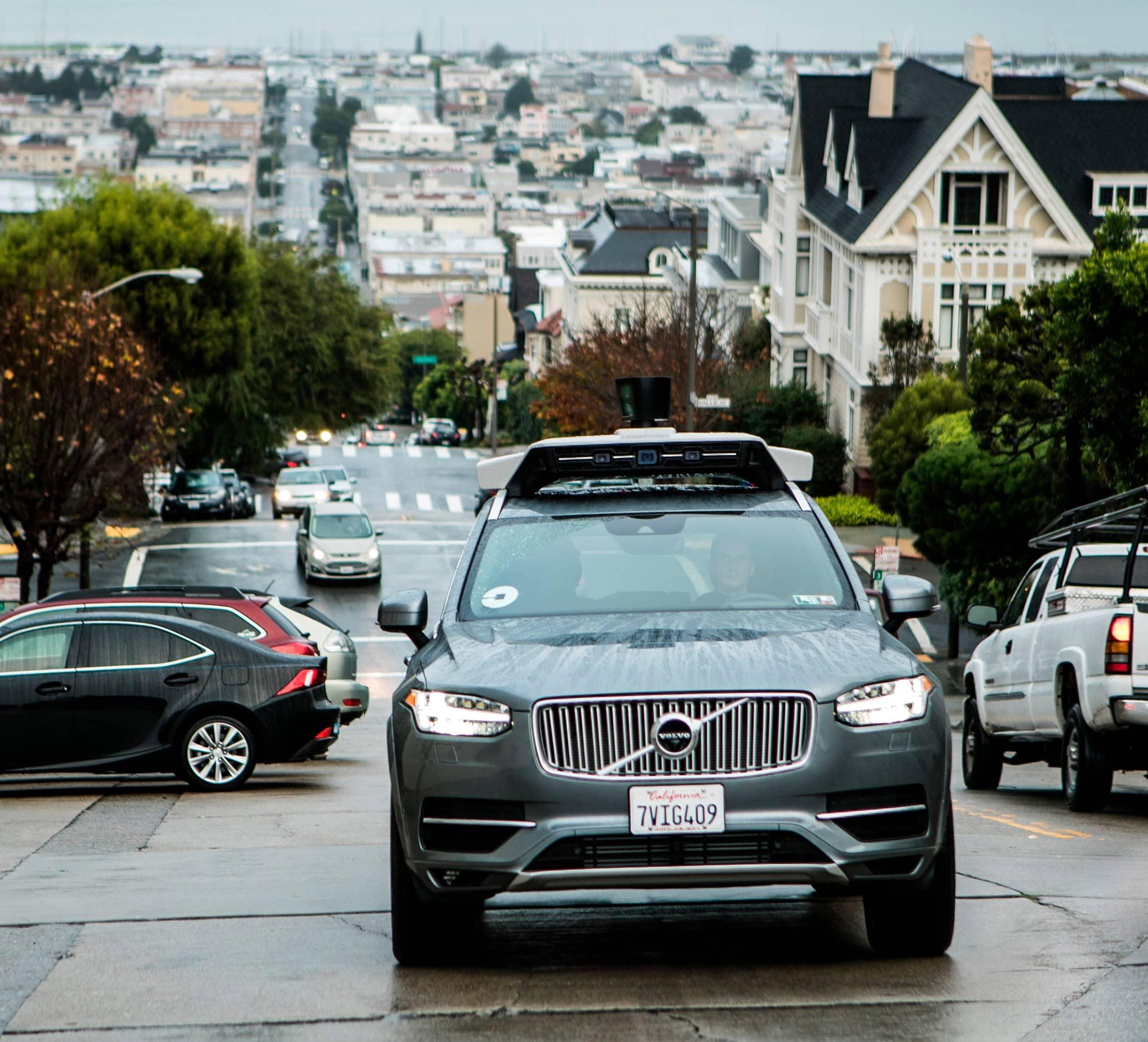 Uber, Volvo Cars Launching New Self-Driving Vehicle
