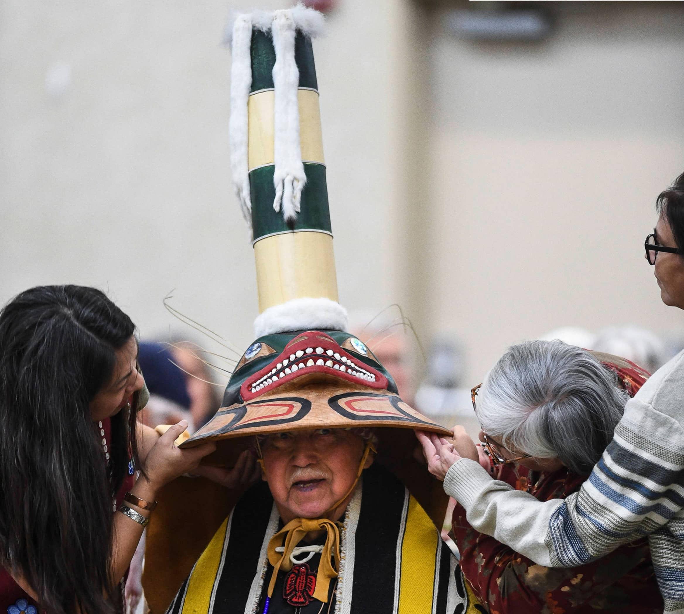 New Technology Brings Old Tlingit Hat Back To Alaska