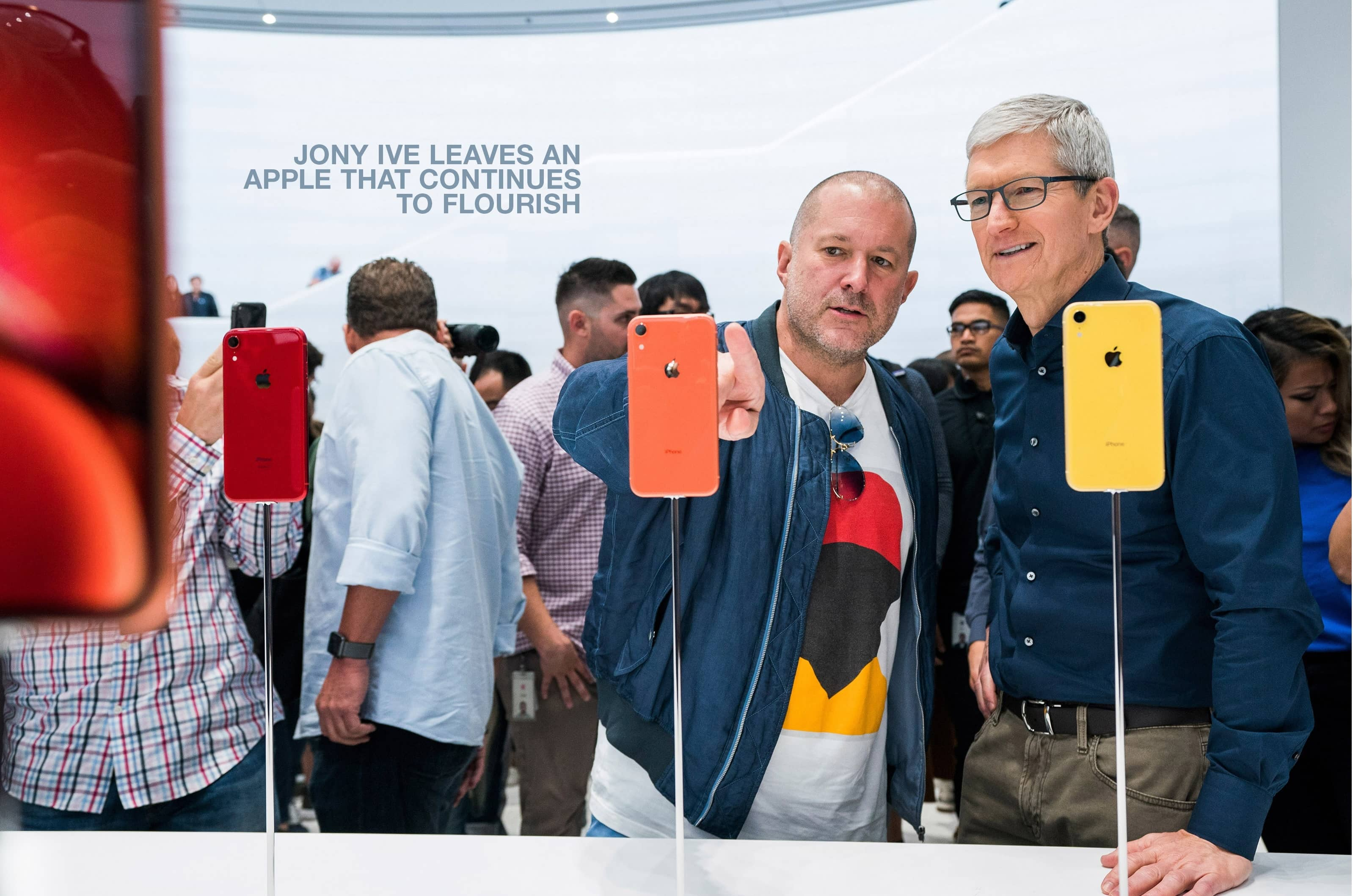 JONY IVE LEAVES AN APPLE THAT CONTINUES TO FLOURISH