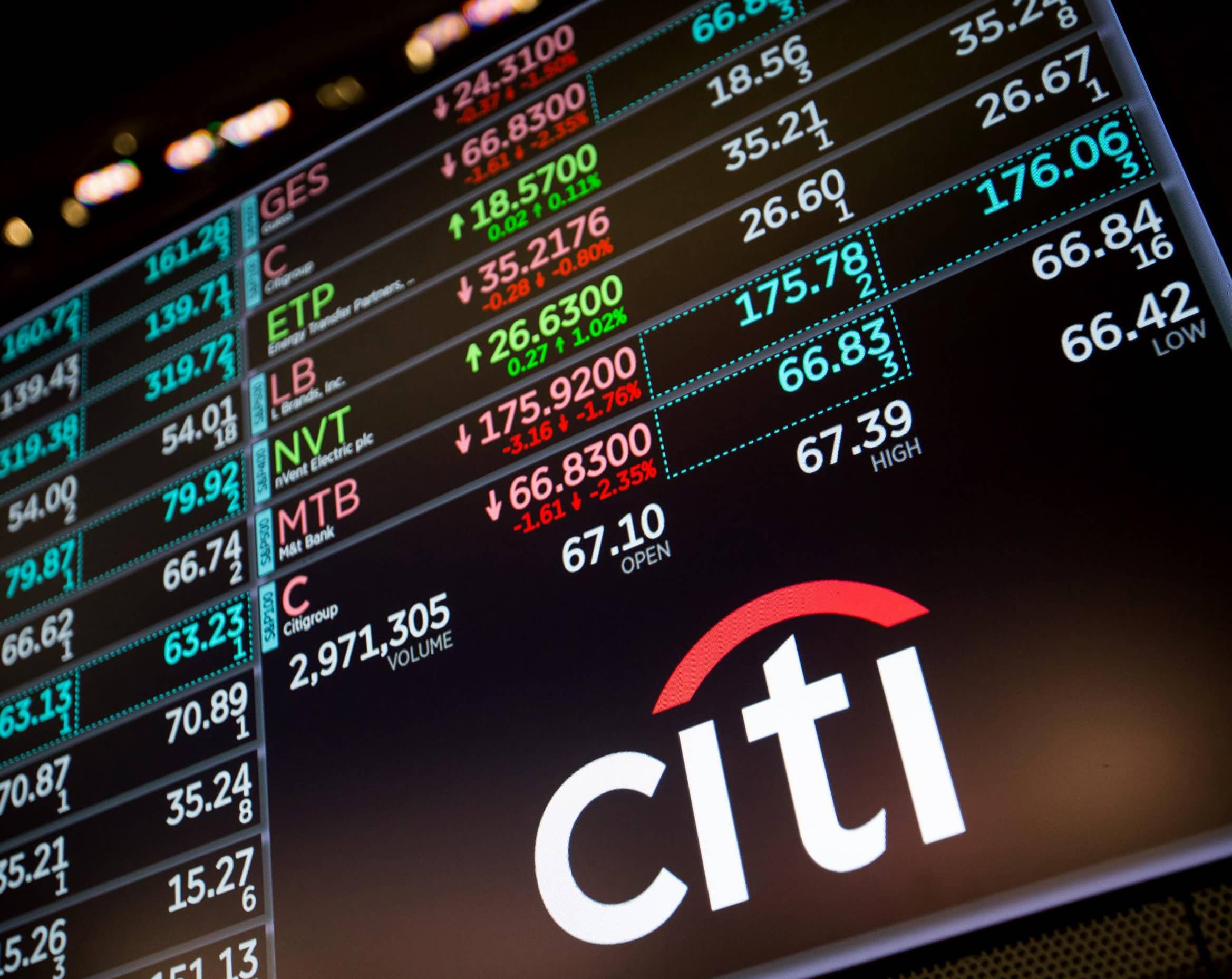CITIGROUP PROFITS RISE 15%, HELPED BY TRADING LIKE JPMORGAN