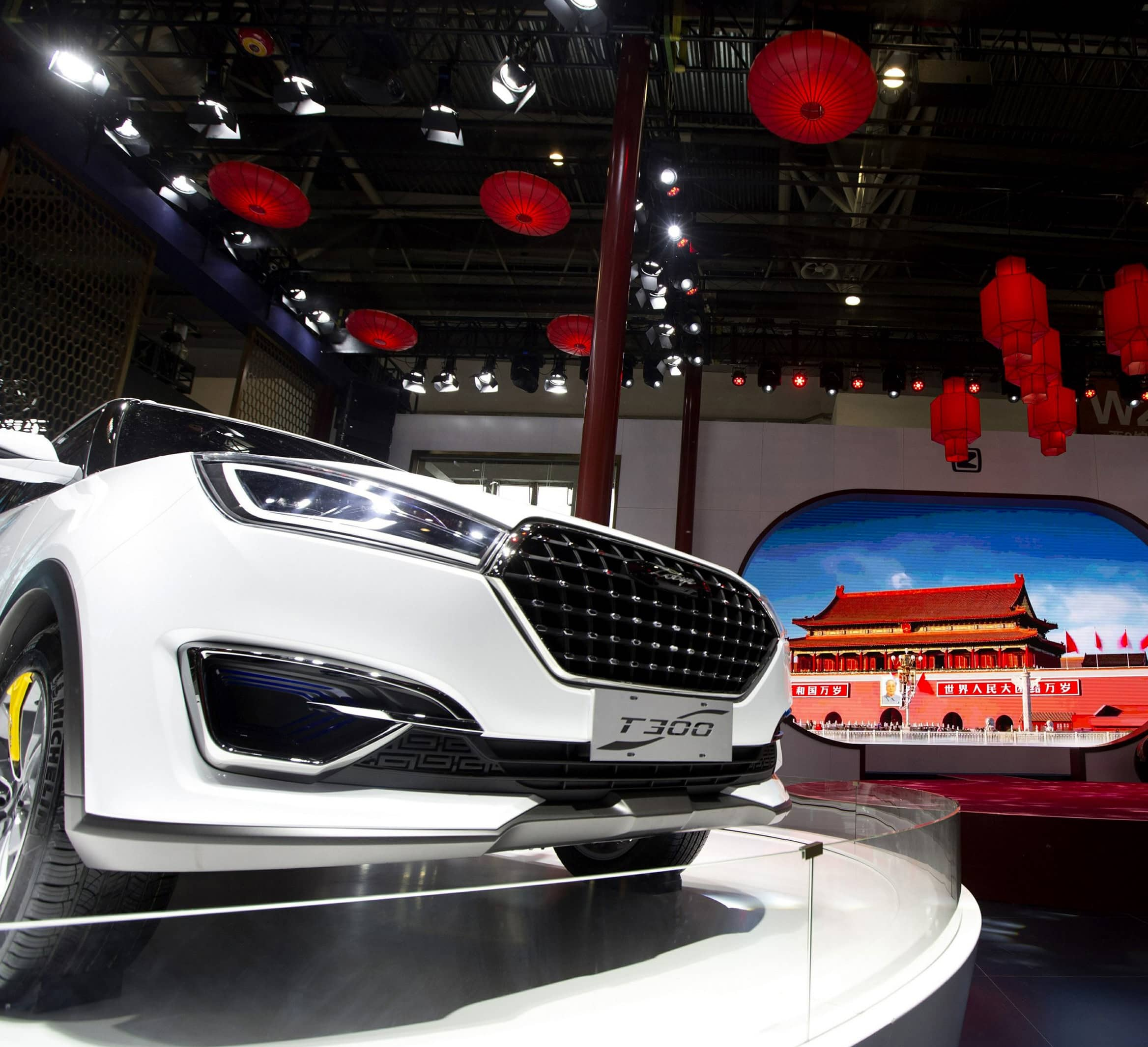 California Company Plans to Sell China-Designed Suvs in US