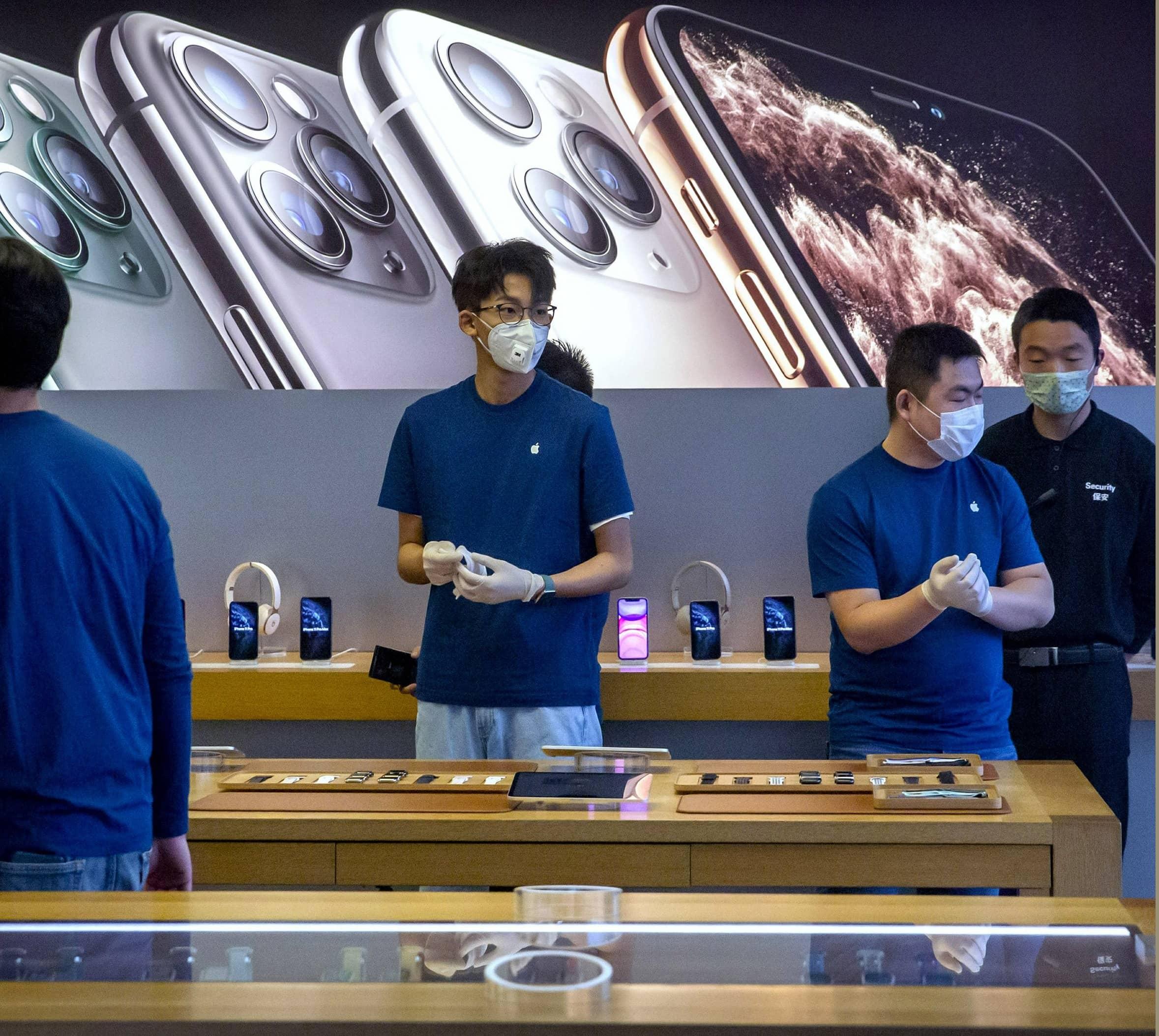 Apple Warns China Virus Will Cut iPhone Production, Sales