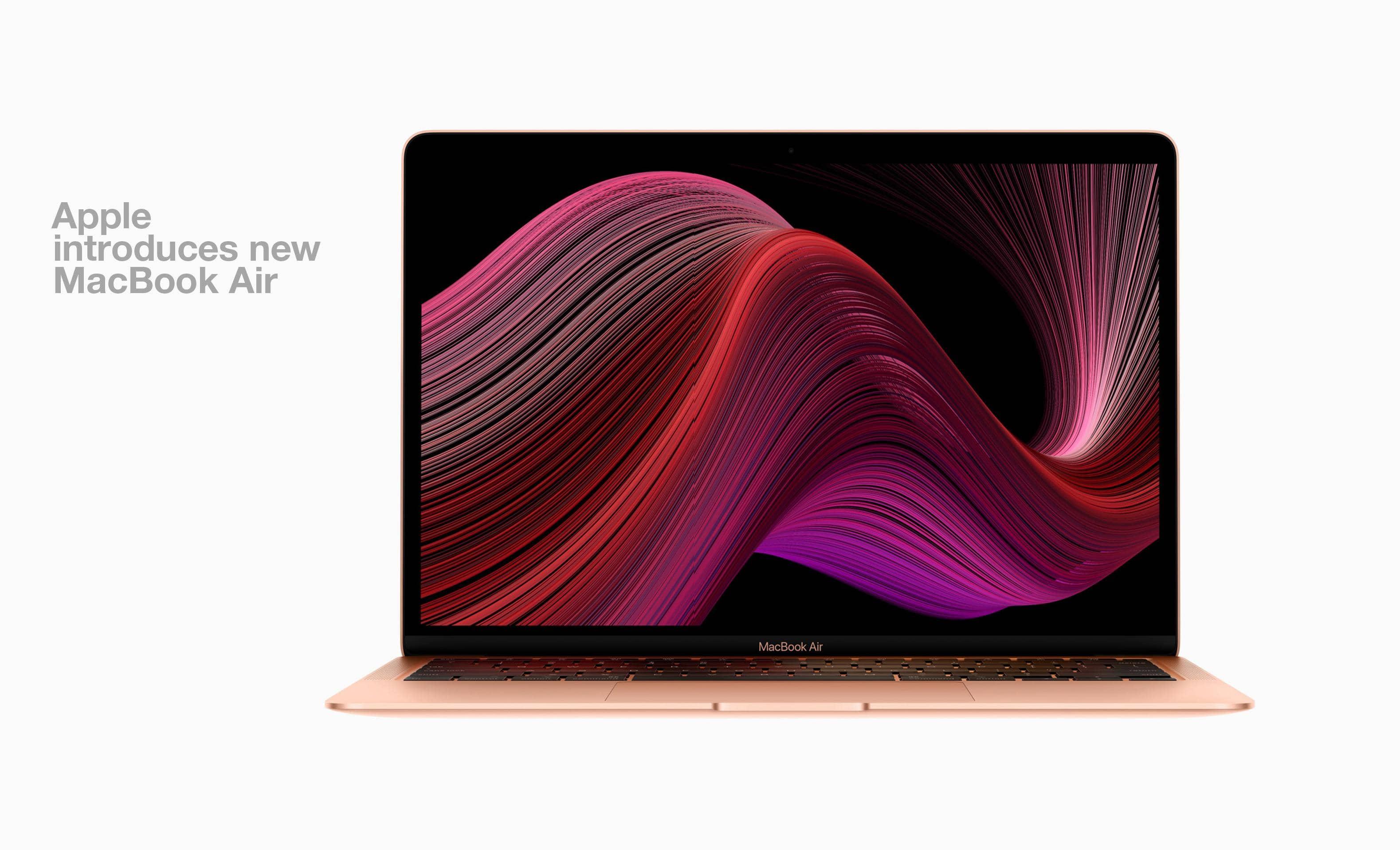 Apple introduces new MacBook Air