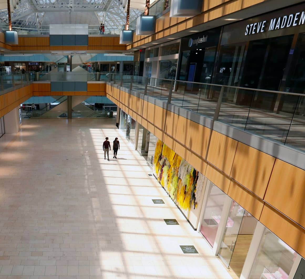 What's Shopping in a Pandemic Like? Drive to your Local Mall