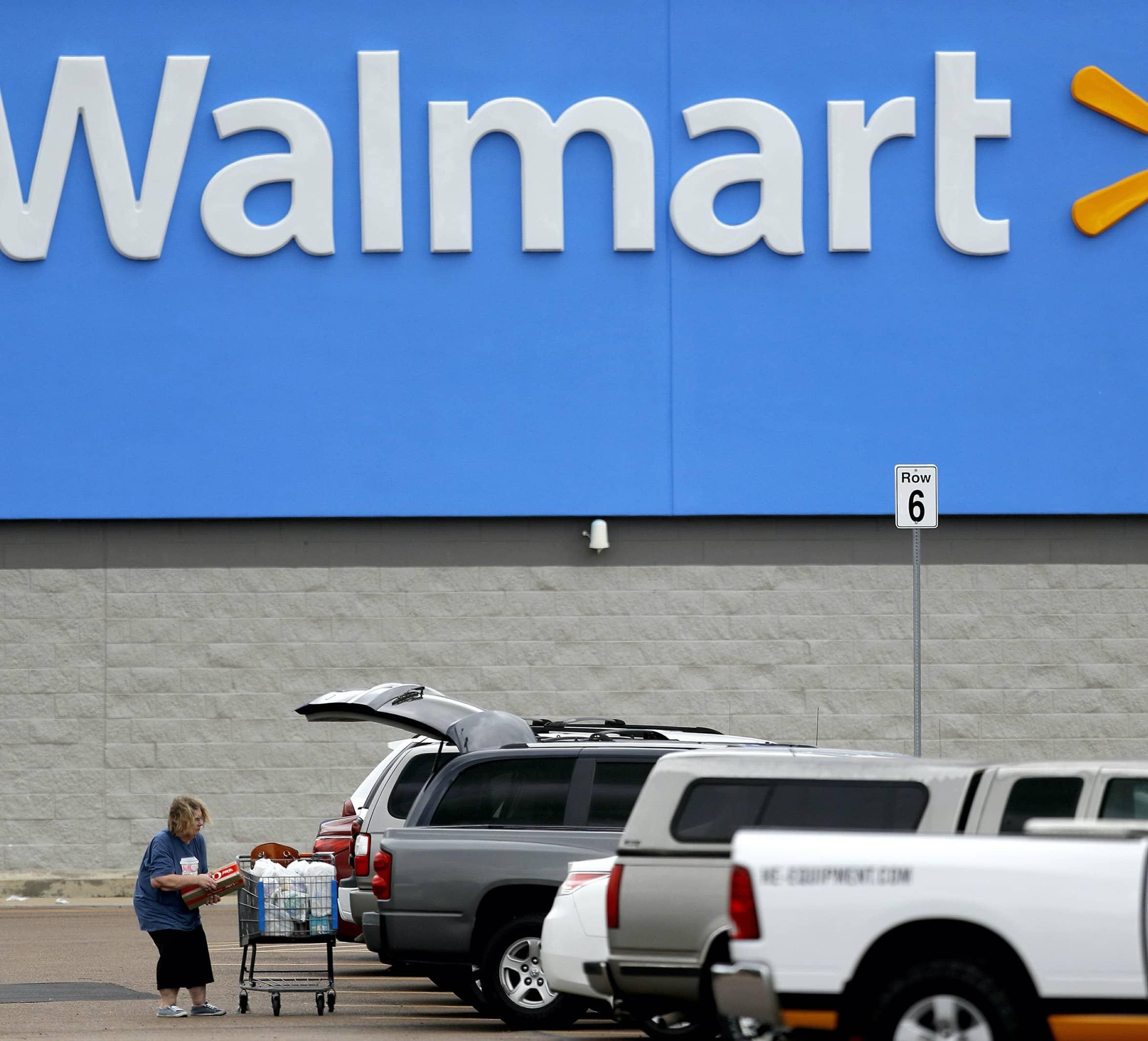 WALMART BECOMES A PANDEMIC LIFELINE, ONLINE SALES SURGE 74%