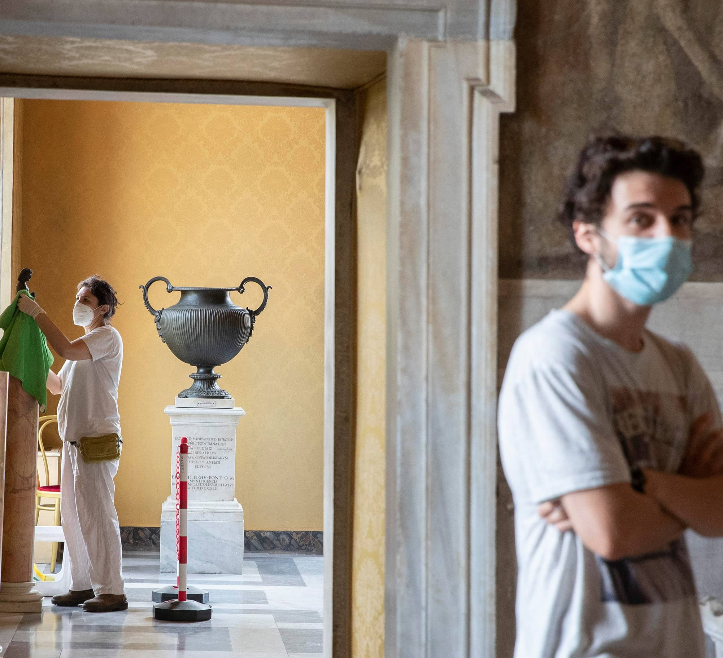 UN AGENCY WARNS PANDEMIC COULD KILL 1 IN 8 MUSEUMS WORLDWIDE