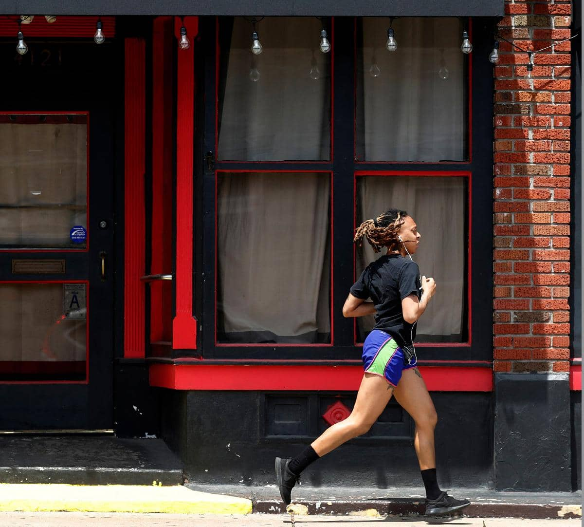 AMERICANS FINDING WAYS TO STAY ACTIVE WHILE KEEPING DISTANCE