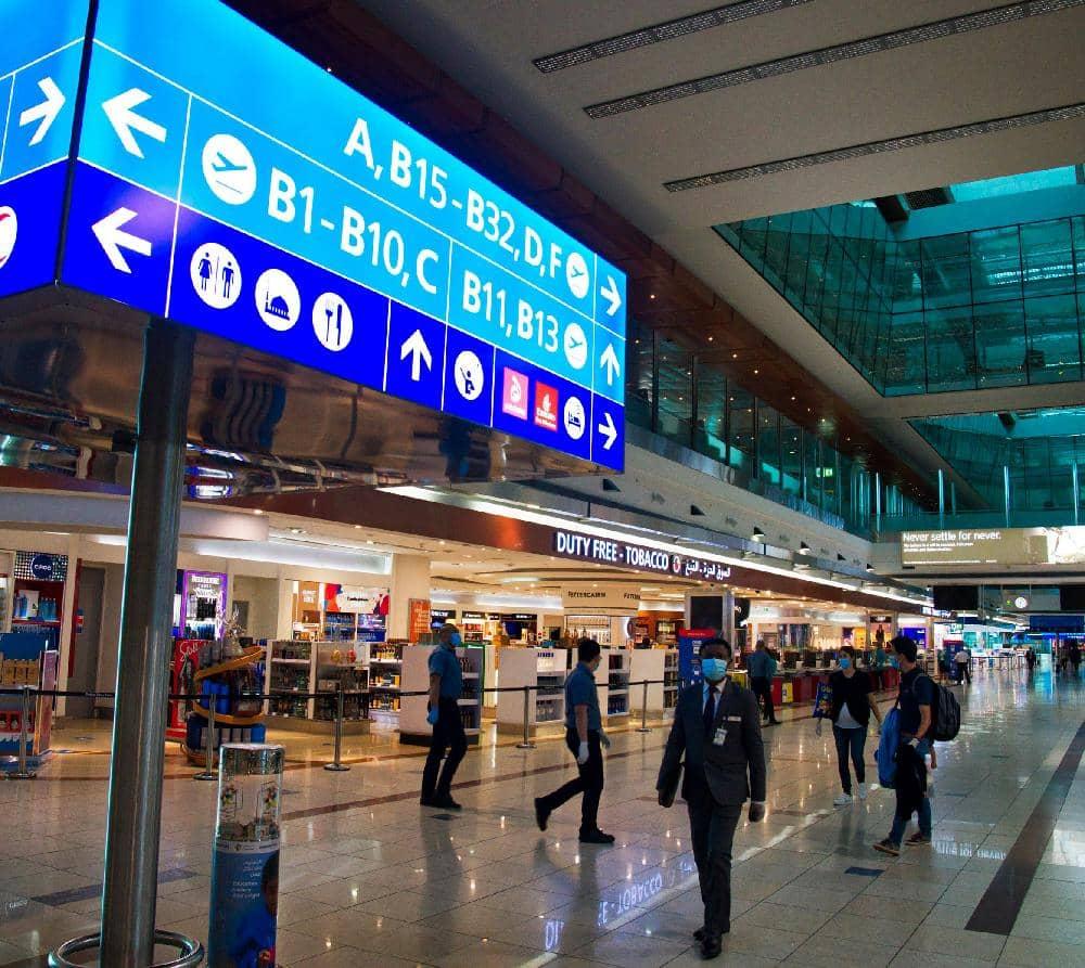 Virus Slows Dubai Airport, World's Busiest For Global Travel