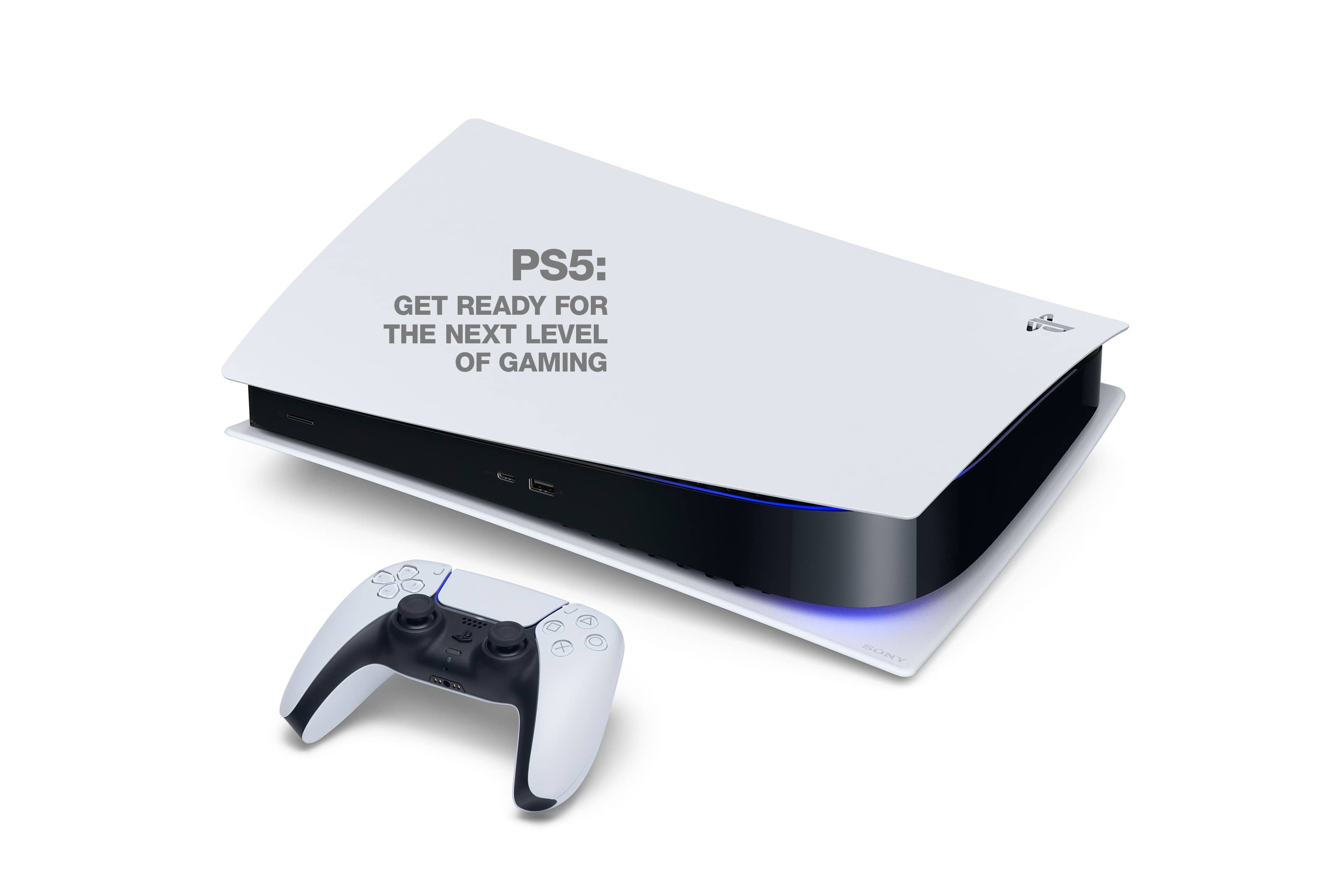 PS5: GET READY FOR THE NEXT LEVEL OF GAMING
