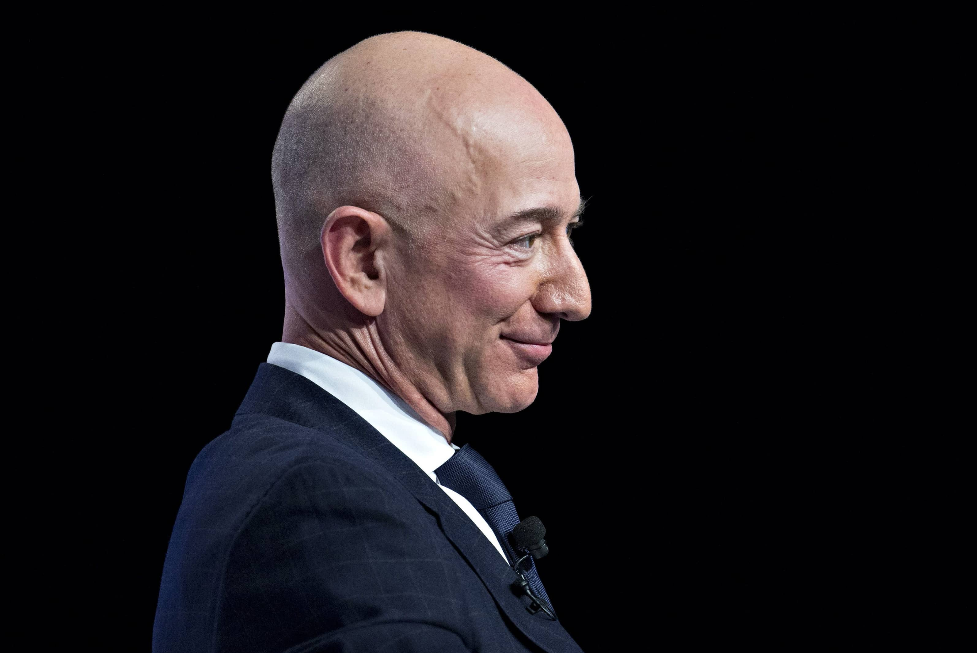 BEZOS MAY TESTIFY ON BIG TECH, BUT WITH OTHER CEOS
