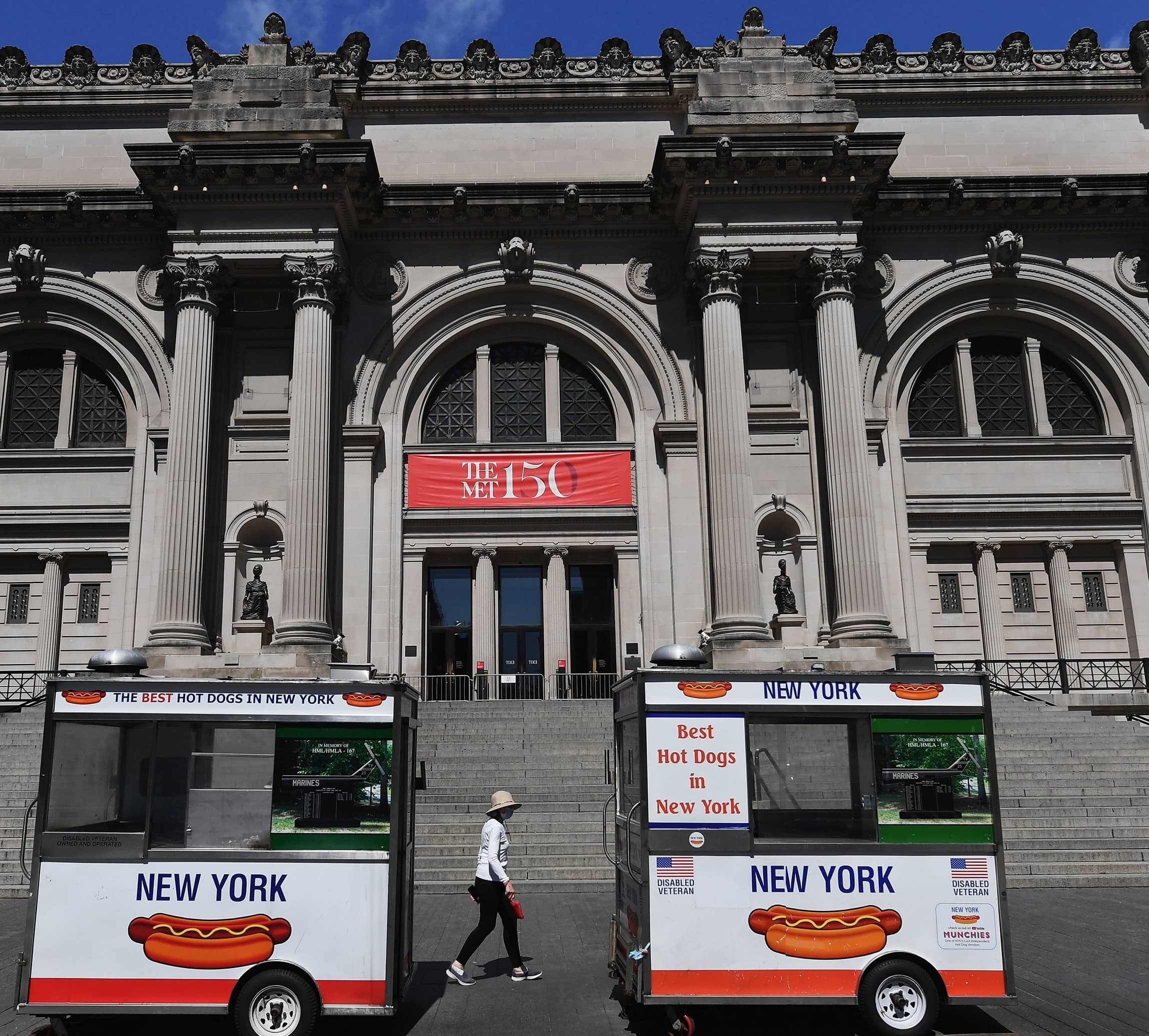 FACE MASKS AMID THE ART: NEW YORK CITY'S MUSEUMS TO REOPEN