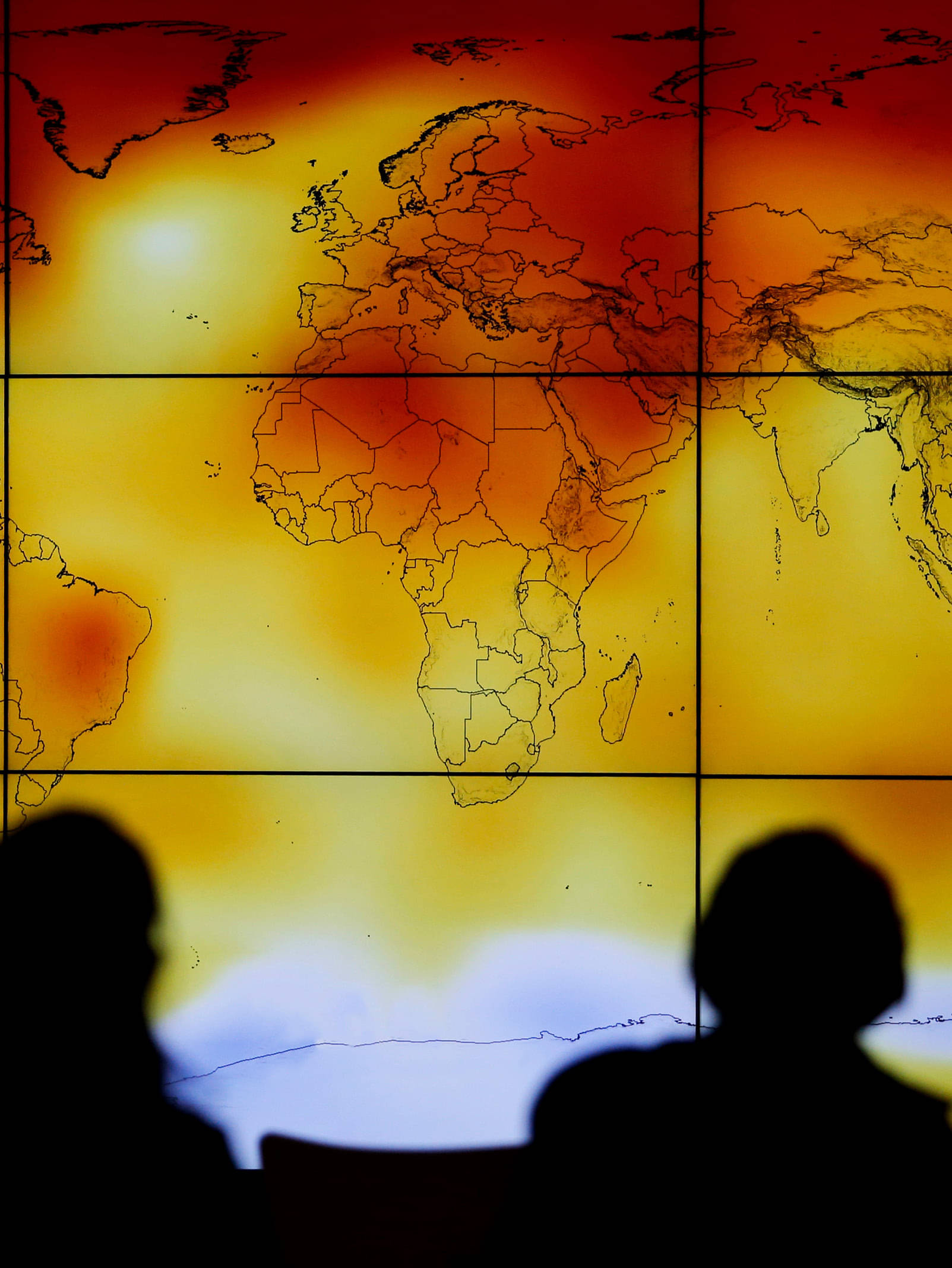 UN REPORT: INCREASED WARMING CLOSING IN ON AGREED UPON LIMIT