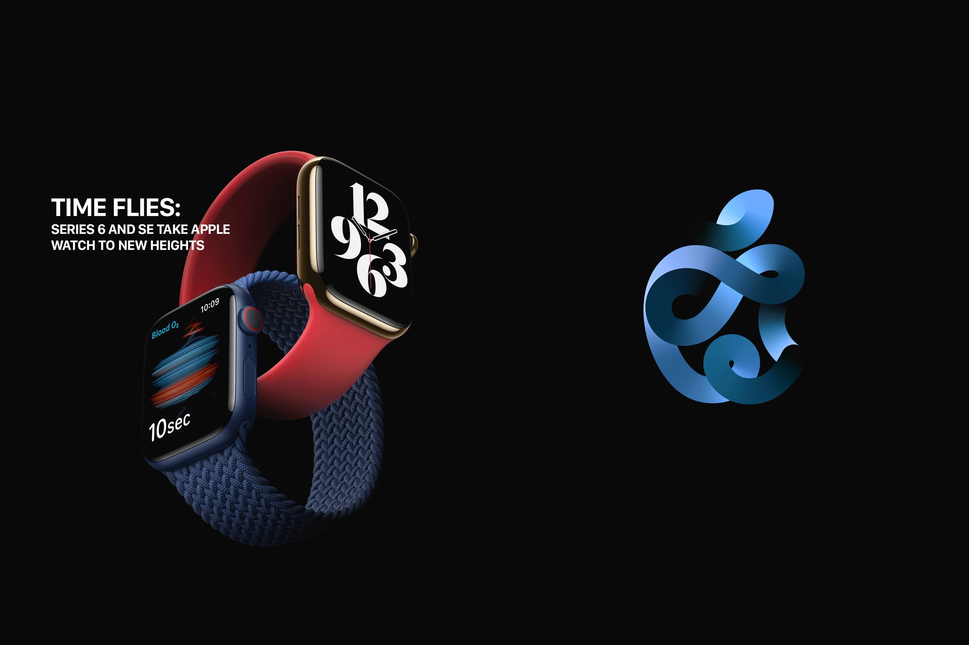 TIME FLIES:SERIES 6 AND SE TAKE APPLE WATCH TO NEW HEIGHTS