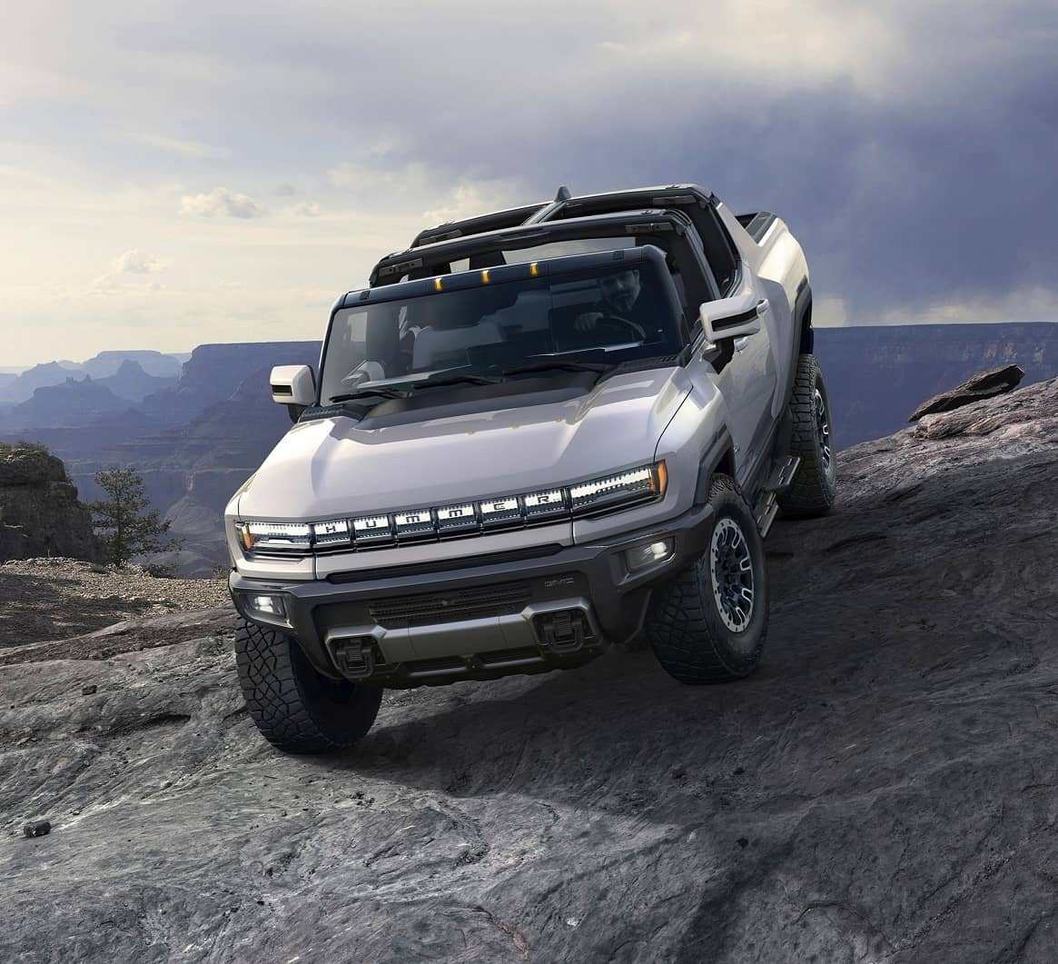 AN ELECTRIC HUMMER? BATTERY POWERED TRUCKS HEAD TO SHOWROOMS