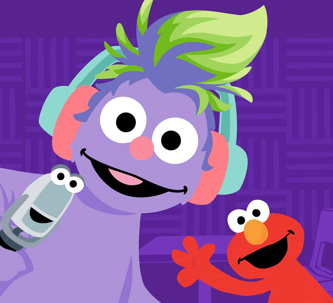 'SESAME STREET' LAUNCHES A PODCAST TO HELP EDUCATE KIDS