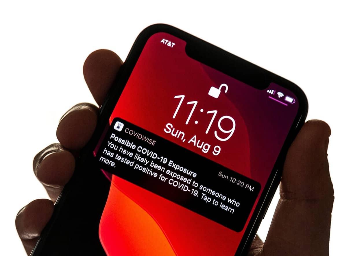 DC DEBUTS SMARTPHONE-BASED COVID-19 EXPOSURE ALERT SYSTEM
