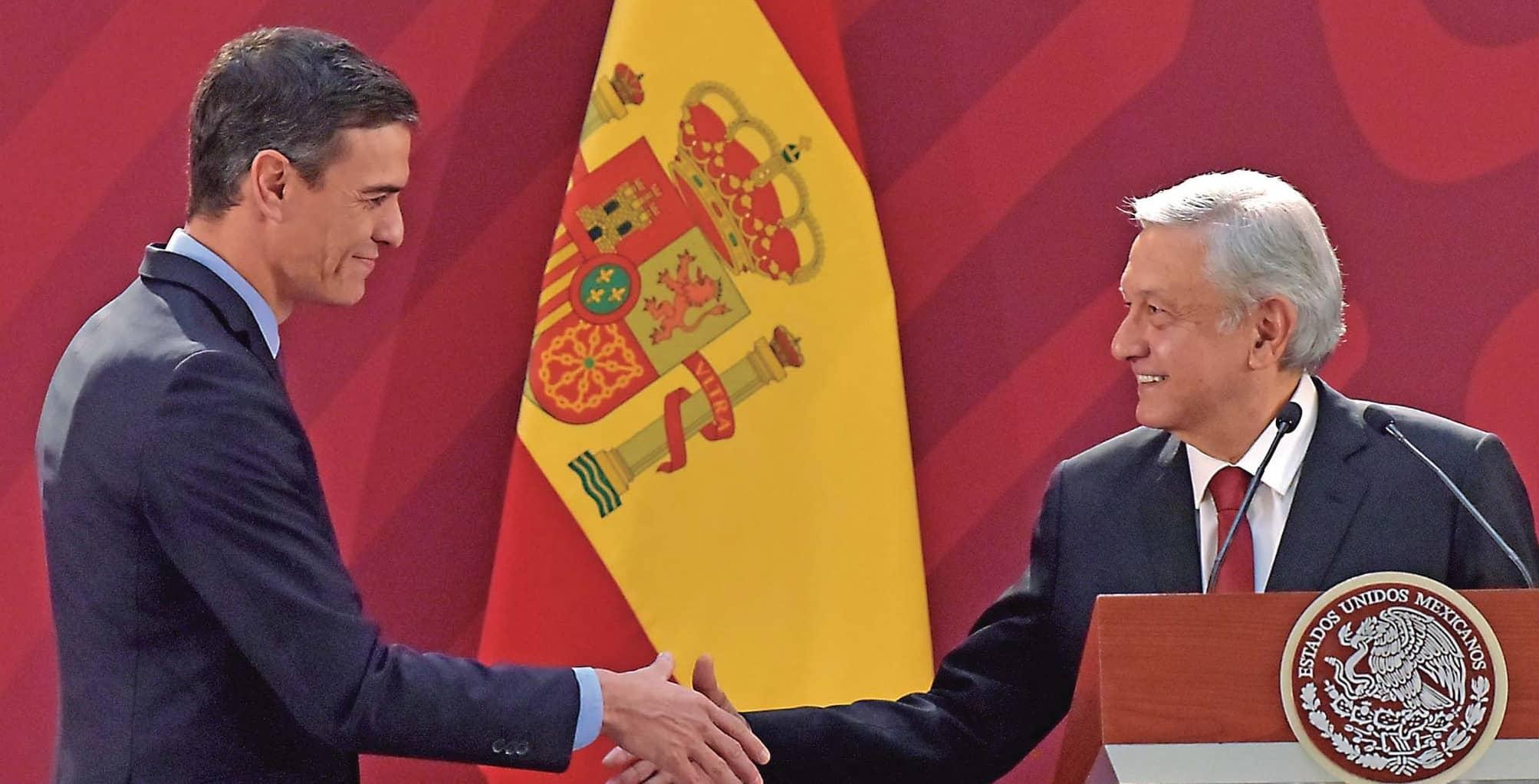 El mensaje de López Obrador puso de cabeza a los españoles... y a los mexicanos