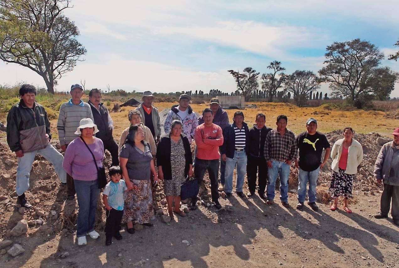 Piden Justicia Los Ejidatarios Atropellados Por El Tren México-Toluca