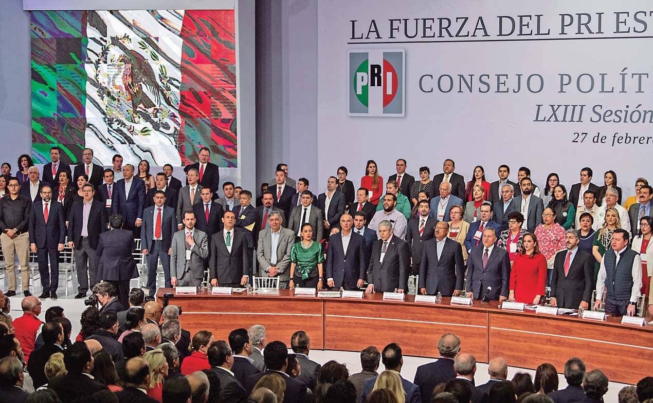 Elecciones Clave Para Un Pri Dividido Y Menguado
