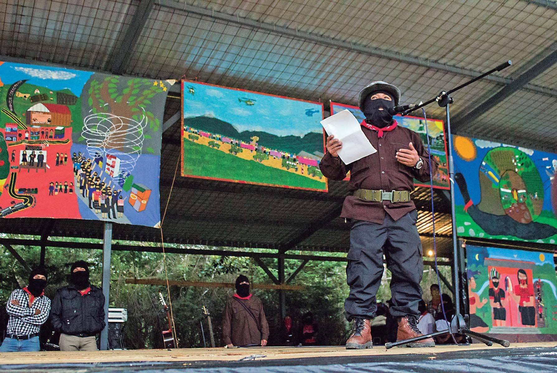 Sólo nos queda mantenernos firmes, dicen los indígenas chiapanecos