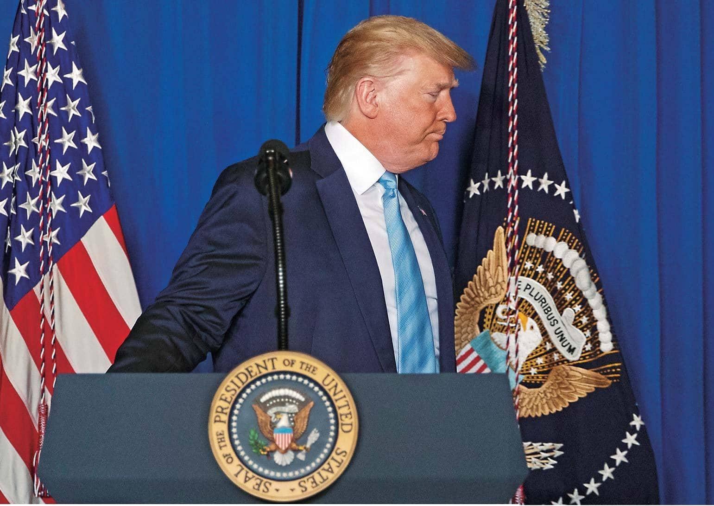 La falsa victoria de Trump