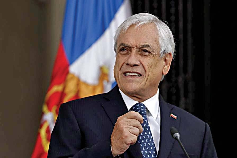 Piñera, en el espejo de Pinochet