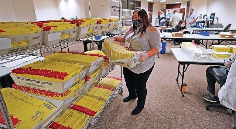 Una guerra soterrada El voto por correo