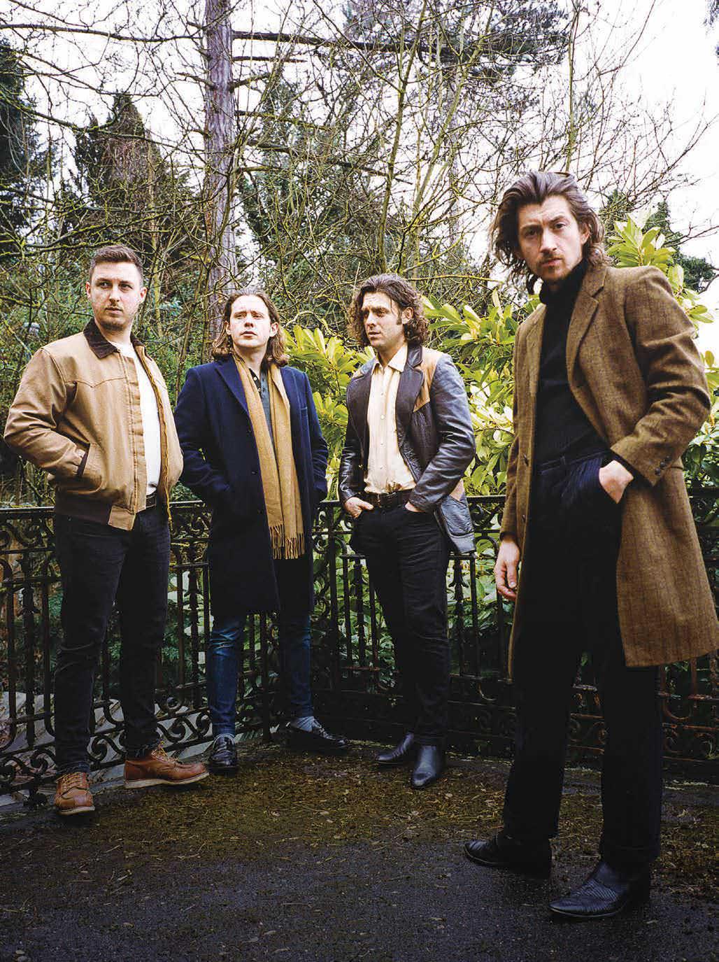 Arctic Monkeys empieza de nuevo