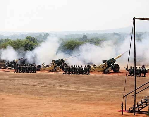 Indian Artillery Celebrates 192nd Gunners Day