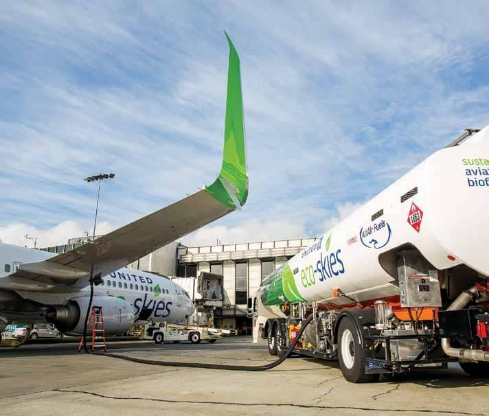 THE PROMISE OF BIOFUELS IN POWERING AIR TRAVEL