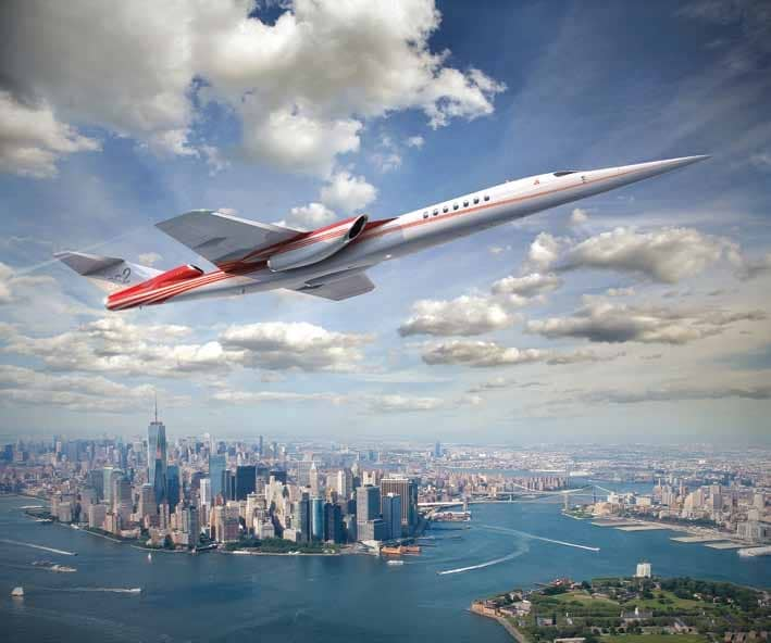 ARE WE AT THE CUSP OF SUPERSONIC AIRLINERS?
