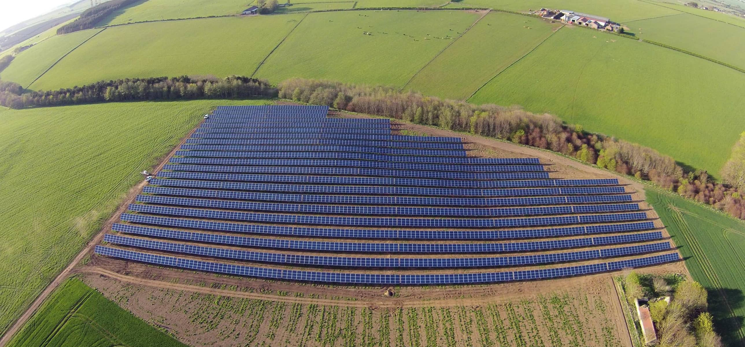 Scottish solar farm basks in the spring sun to set new record