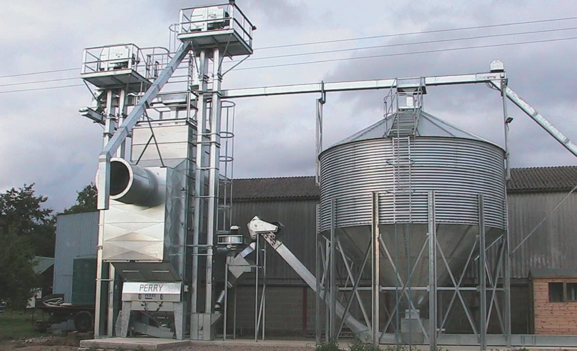 Grain handling solutions from Perry of Oakley Ltd