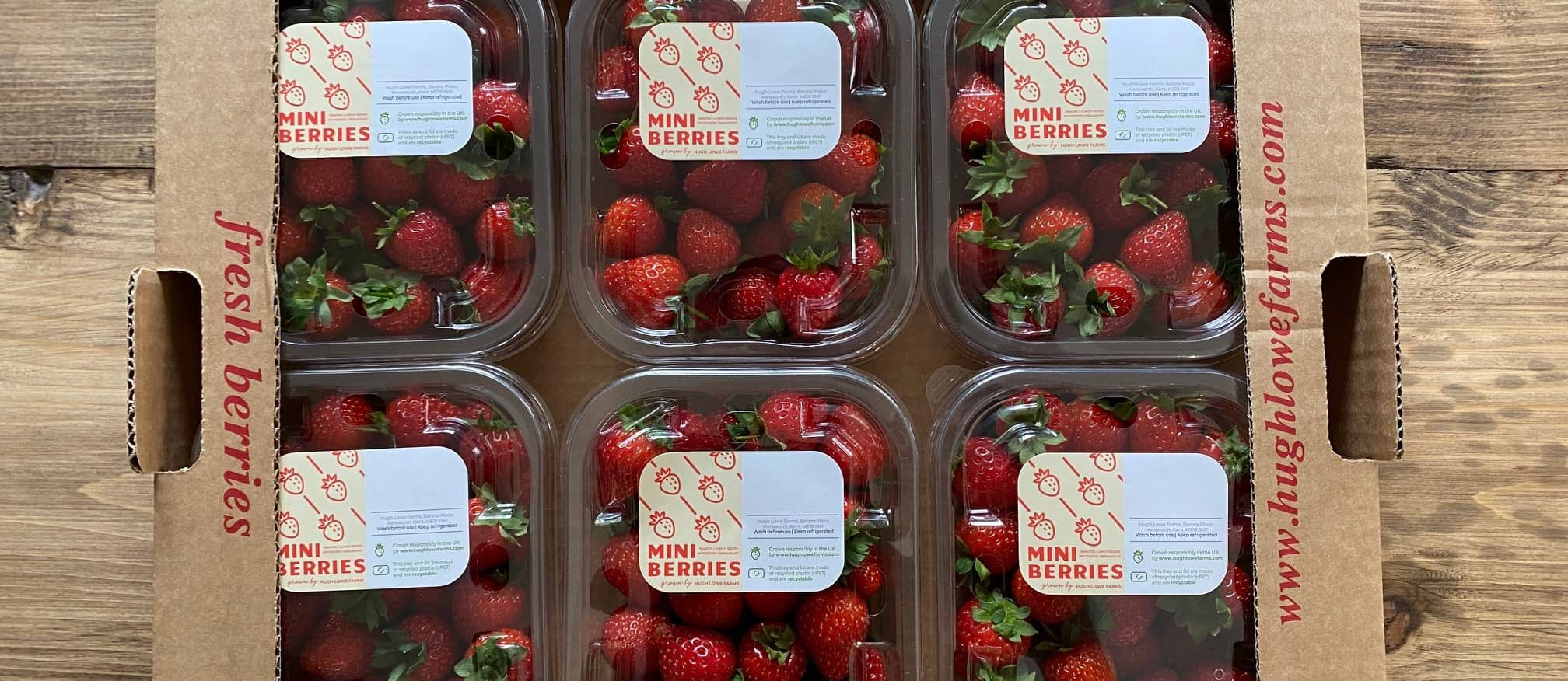 Mini Berries GrownBy Hugh Lowe Farms Launch into Waitrose and Ocado