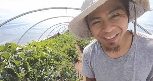 FILAM MILLENNIAL LEFT CORPORATE JOB TO START AN URBAN FARM