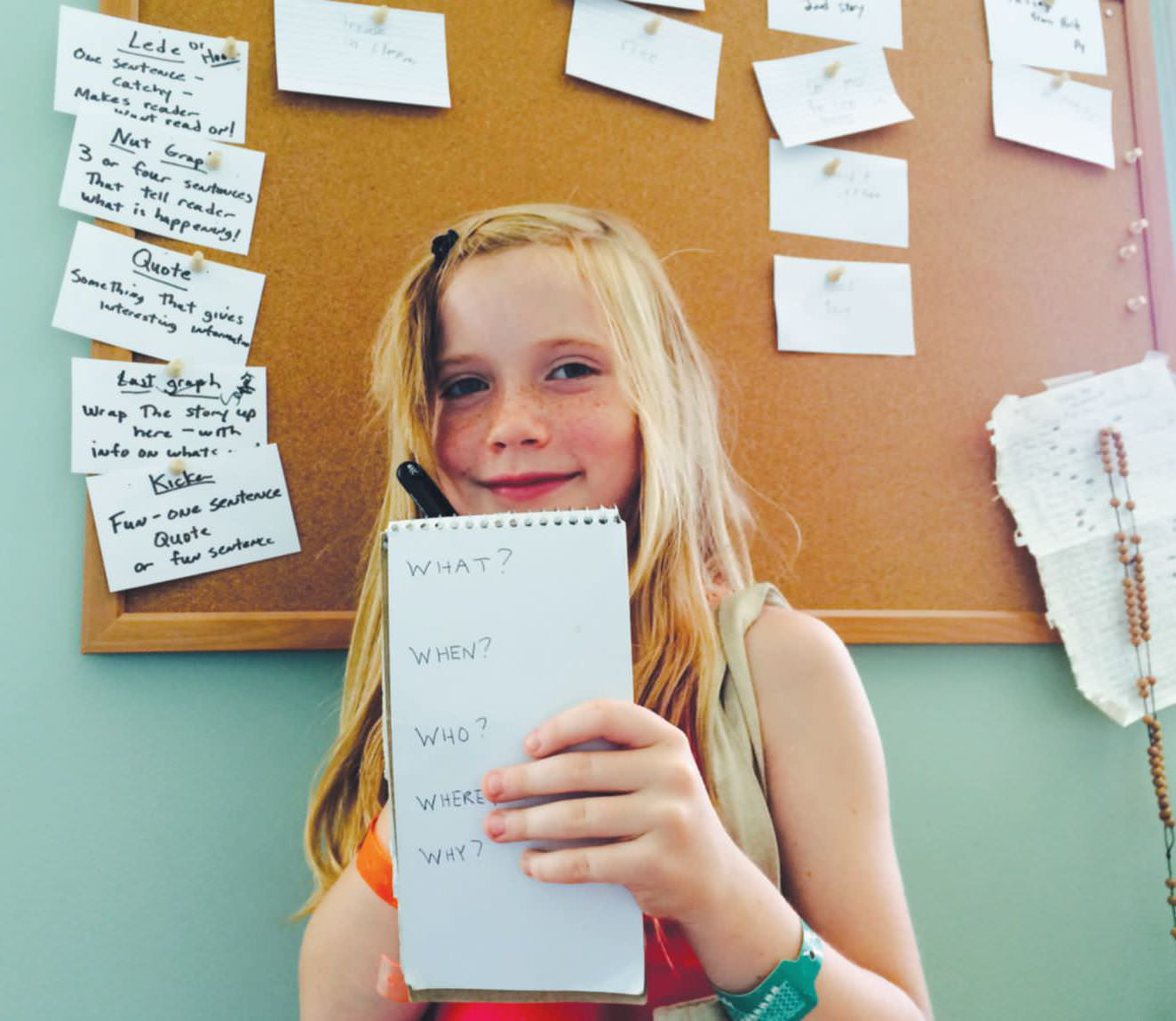 8-Year-Old Editor In Chief