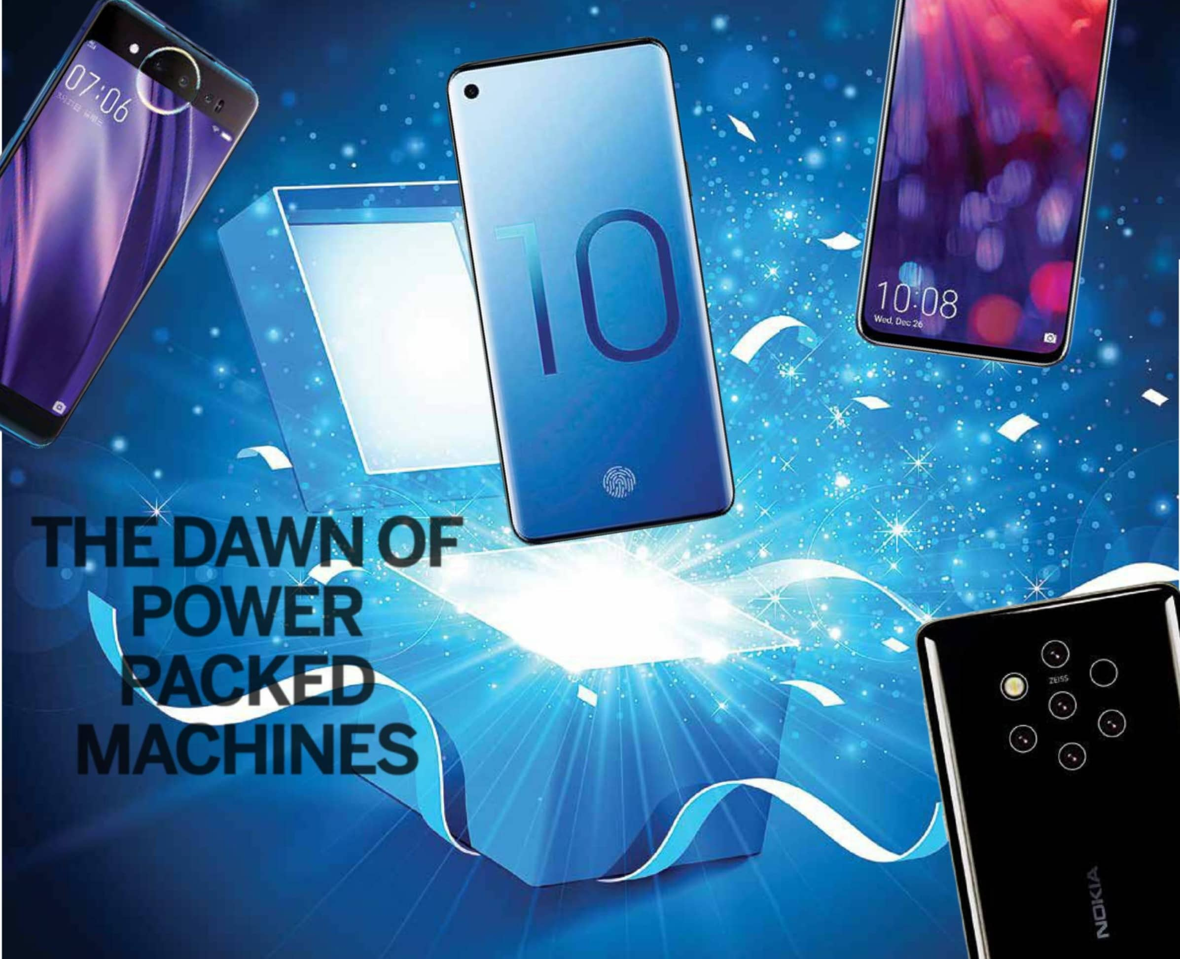The Dawn Of Power Packed Machines